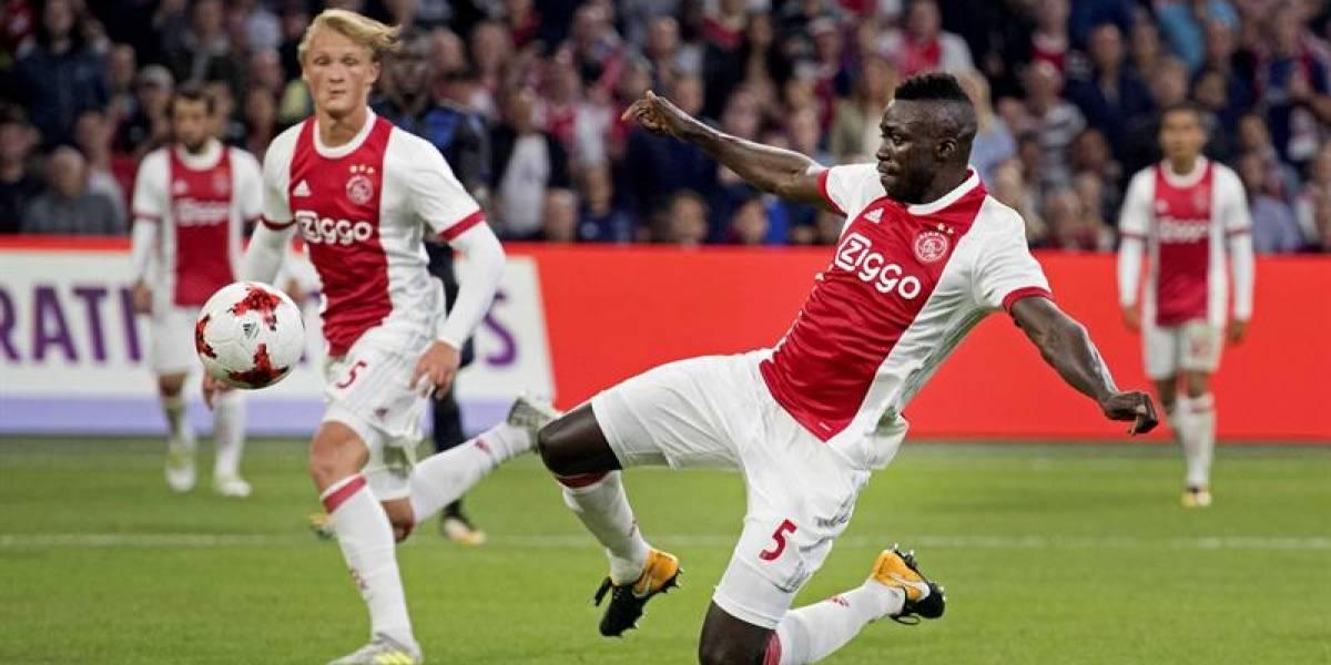 Dávinson Sánchez no pudo evitar la eliminación del Ajax de la Champions League