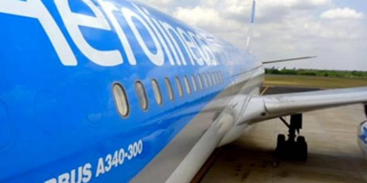 Trabalhadores da Aerolíneas Argentinas entram em greve