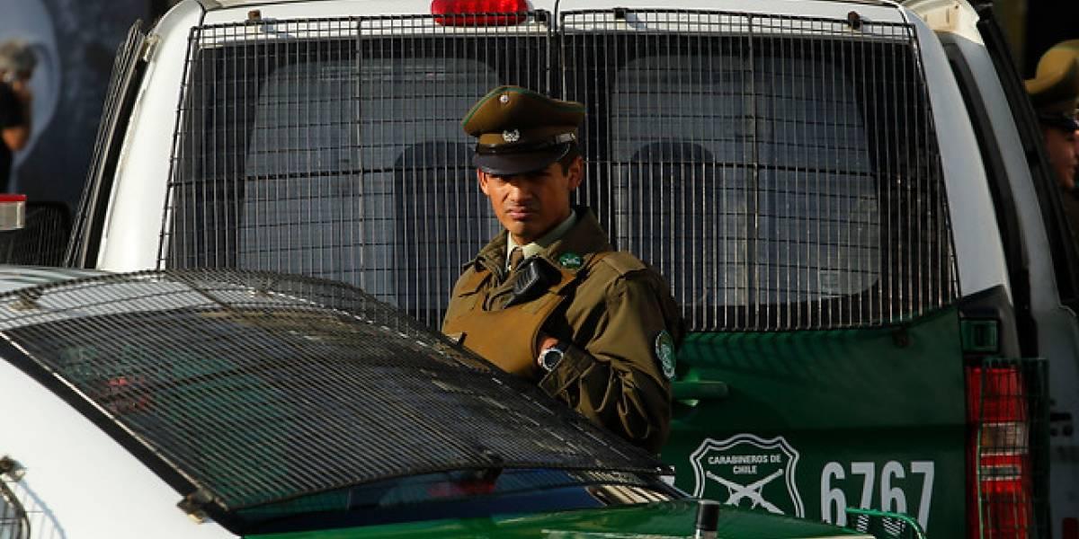 Guardia de empresa queda detenido tras ultimar de un balazo a presunto asaltante en Quilicura