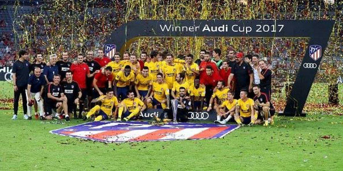 Atlético de Madrid conquista la Audi Cup al vencer al Liverpool por penales