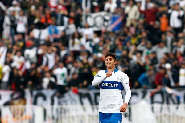 Benjamín Kuscevic ha jugado los tres partidos del segundo semestre de 2017 de la UC como titular / Agencia UNO