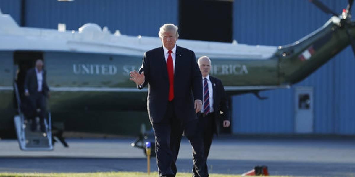 Trump describe a la Casa Blanca como auténtico vertedero