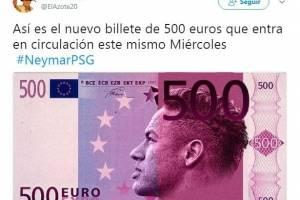 Los aficionados catalanes están molestos con Neymar