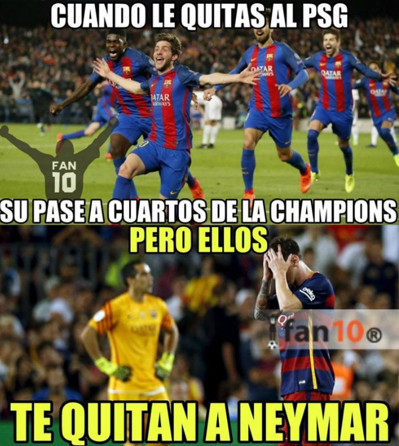 La emotiva carta de despedida de Piqué para Neymar