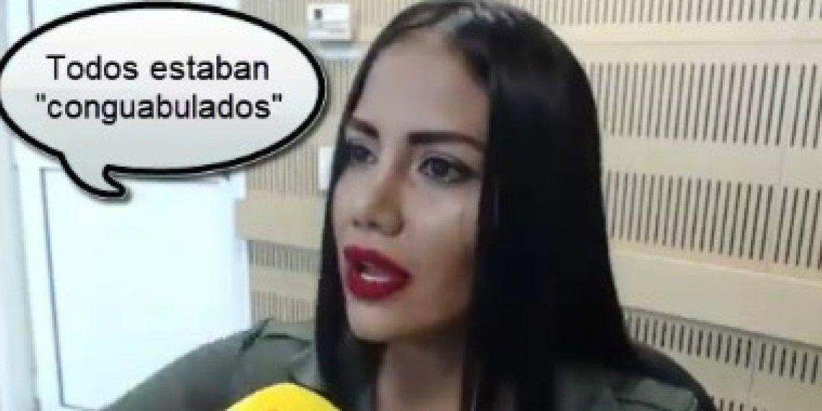 Ustedes, los que se burlan de Kathe Martínez, ustedes dan asco
