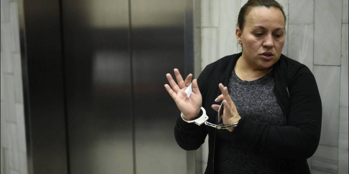 """La esposa de Marvin Montiel alias """"el Taquero"""" asegura que la quieren de """"carnada"""""""