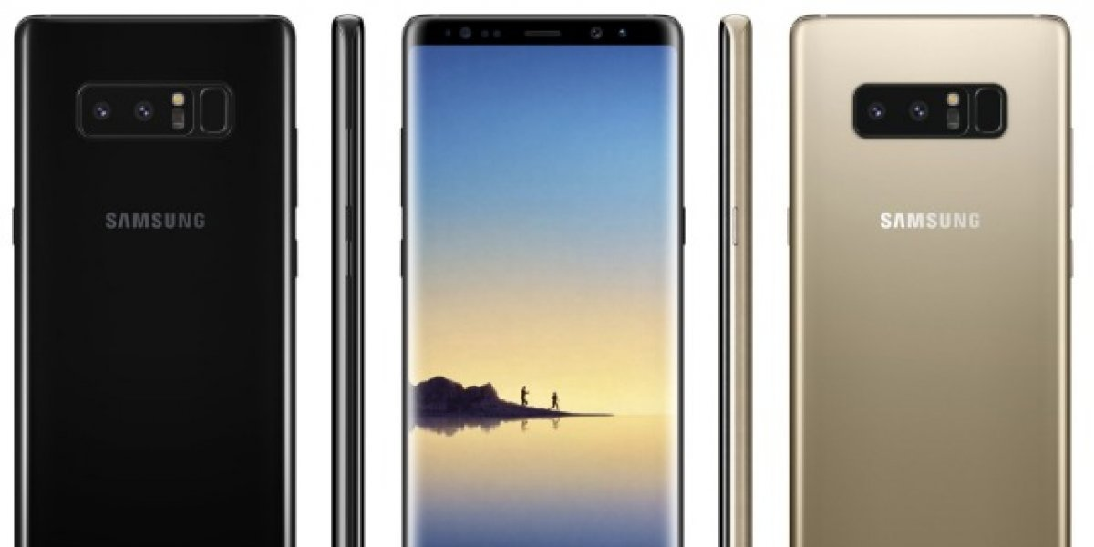 Galaxy Note 8: Imágenes filtradas muestran sus especificaciones