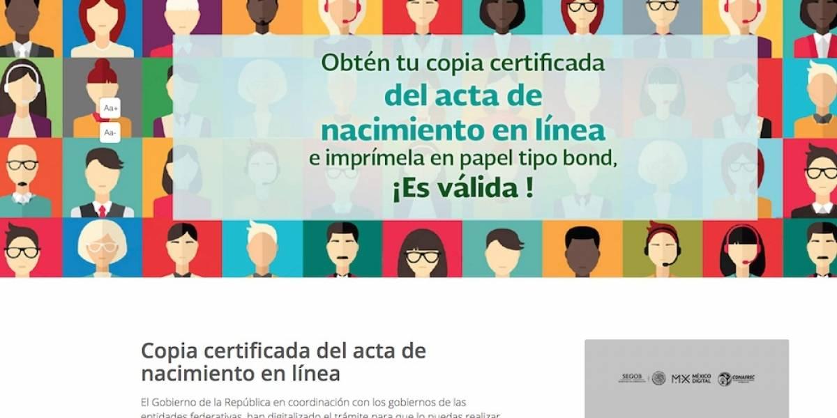 Cómo obtener tu acta de nacimiento en línea? | Publimetro México
