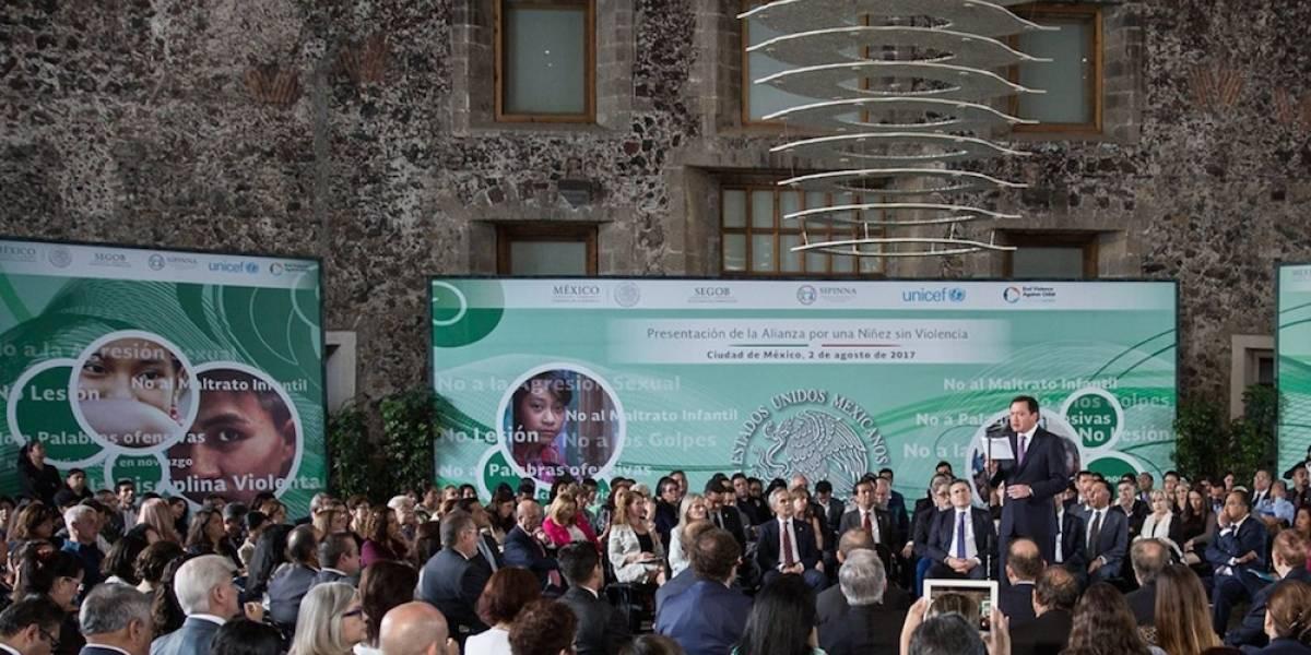 México erradicará toda las formas de violencia infantil: Osorio Chong
