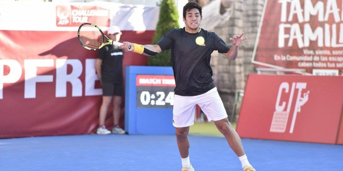 Christian Garín fue eliminado en dura batalla del Challenger de Segovia