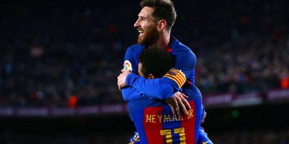"""Messi se despide de Neymar con emotivo video y le desea """"mucha suerte"""""""