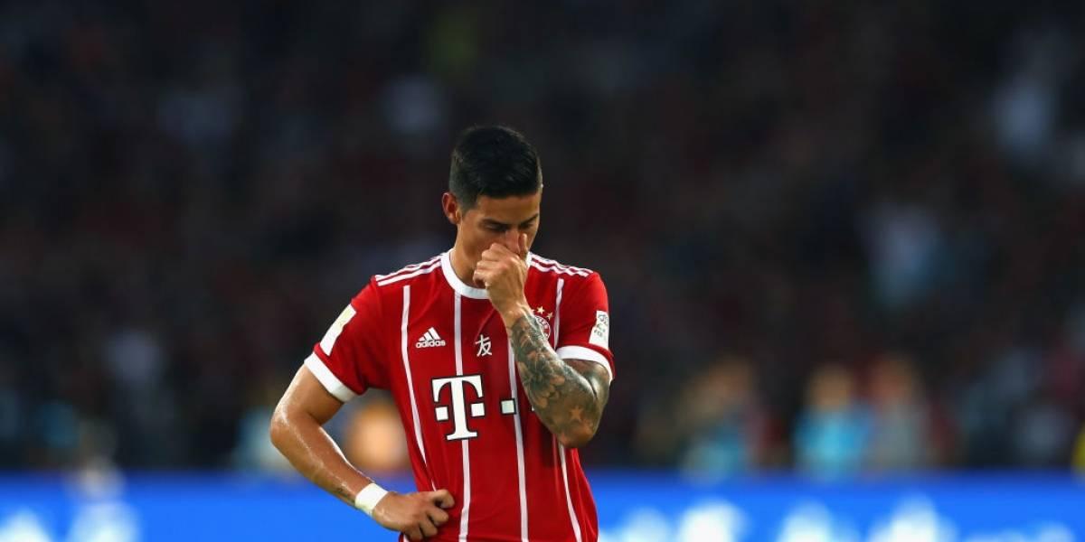 Oficial: El Bayern Múnich confirmó el estado de James Rodríguez