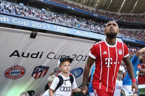 SSC Napoli v FC Bayern Muenchen - Audi Cup 2017
