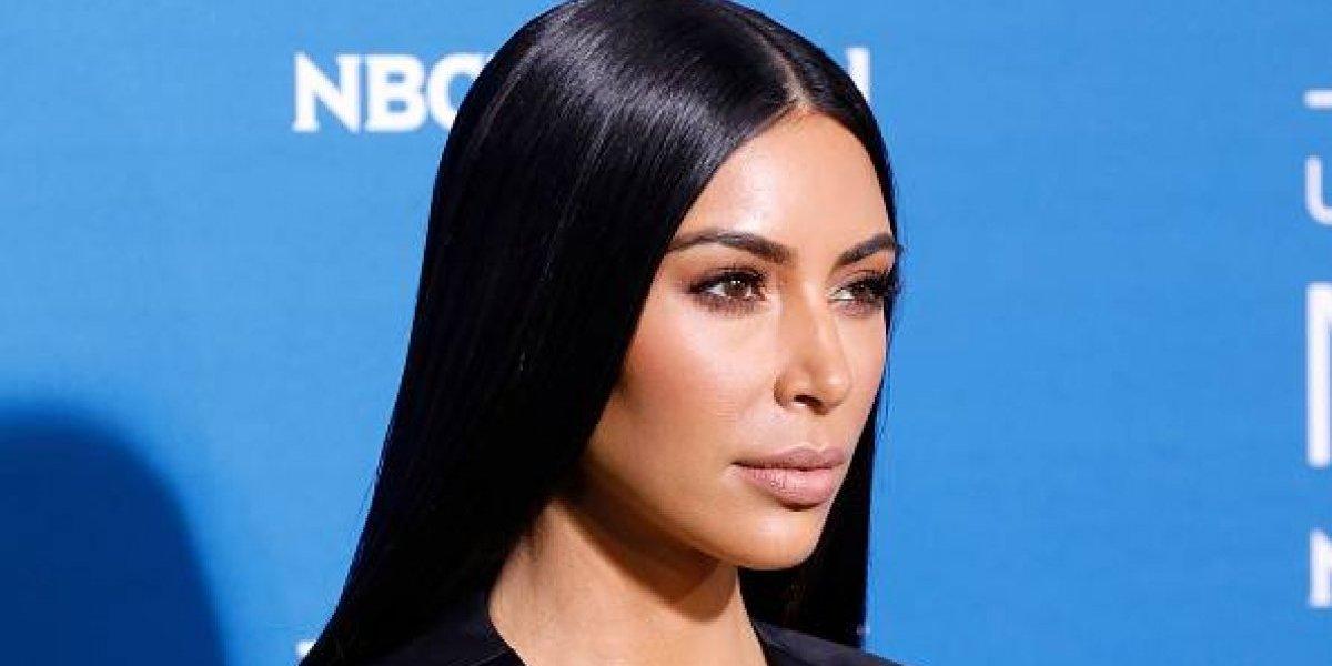 Kim Kardashian disfruta andar sin ropa interior y lo demuestra de nuevo