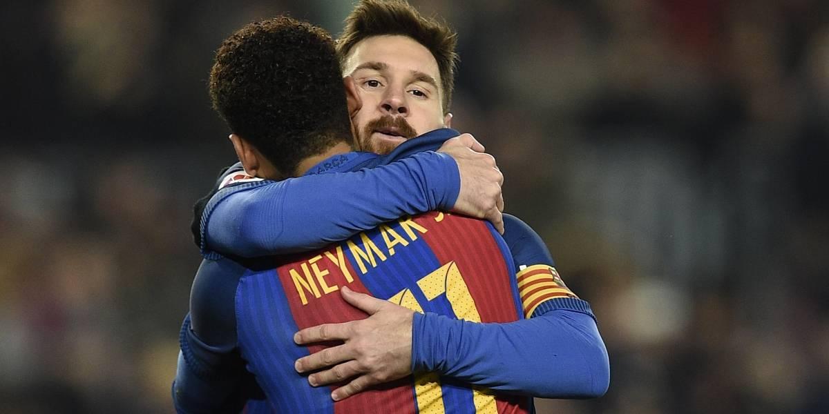 El mensaje de despedida de Lionel Messi a Neymar