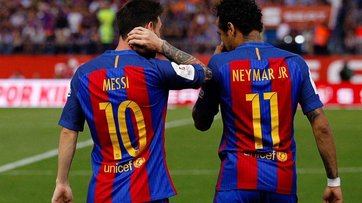 Mensaje de Messi a Neymar tras oficializarse su salida del Barcelona | Publinews