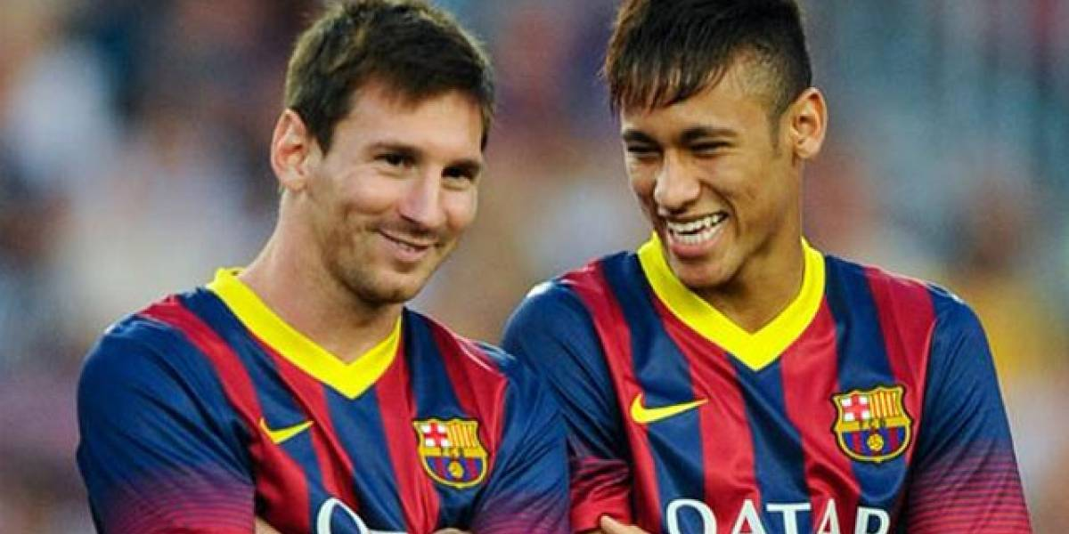 Messi y un emotivo video de despedida a Neymar