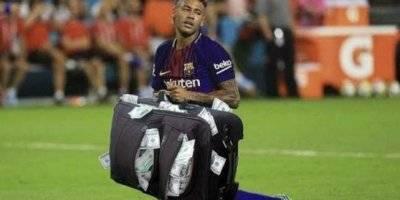 Muchas críticas ha recibido Neymar