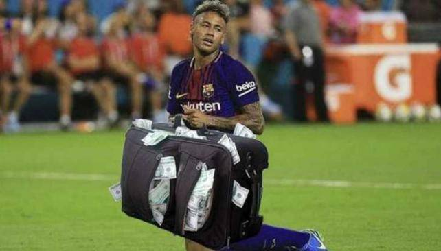 Pide Liga francesa a española no bloquear traspaso de Neymar