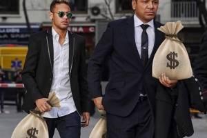 Neymar jugará en la liga francesa