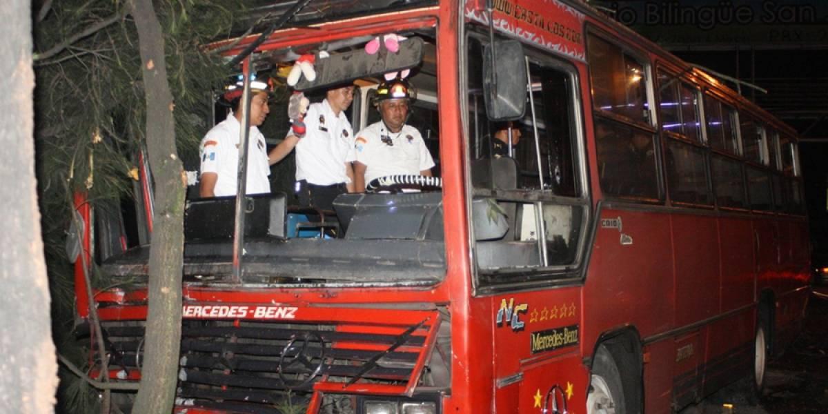 Piloto de ruta 22 es asesinado en calzada San Juan