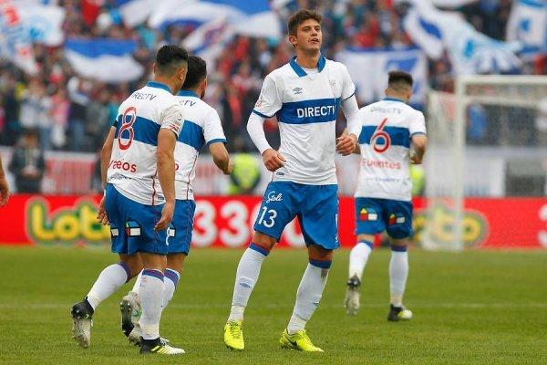Benjamín Kuscevic tiene contrato hasta diciembre de 2019 con la UC / Photosport