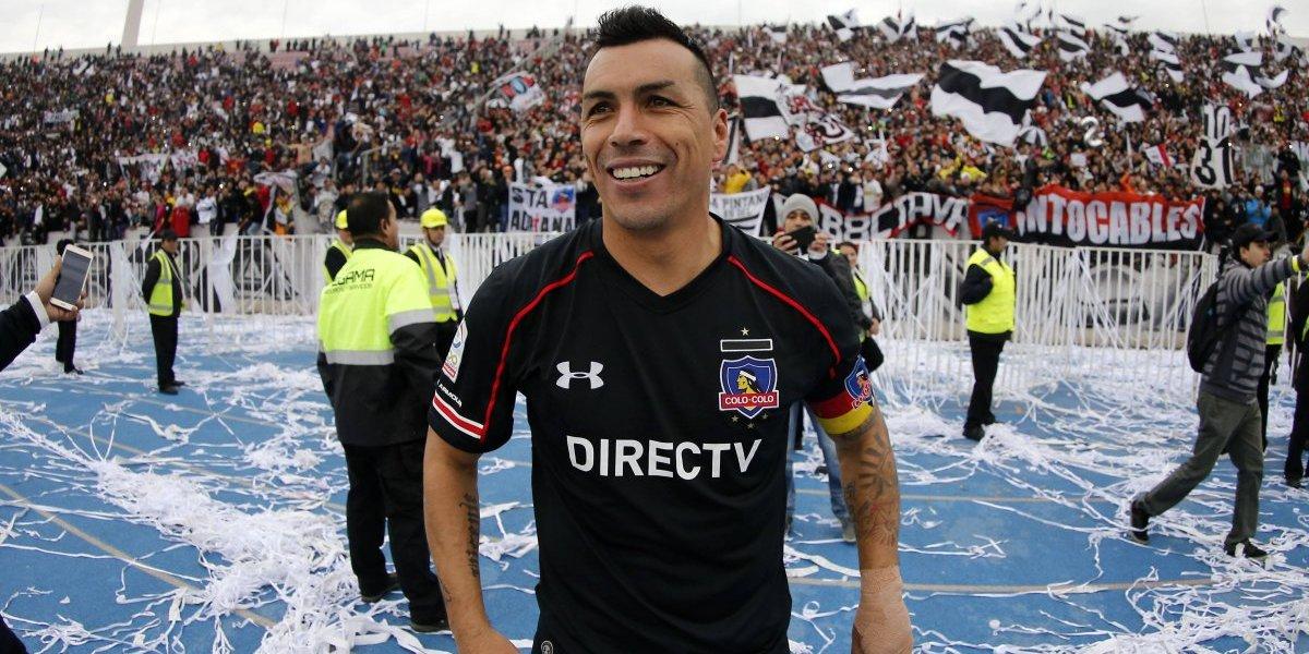"""""""Esteban Paredes es un superdotado, es como Diego Maradona"""""""