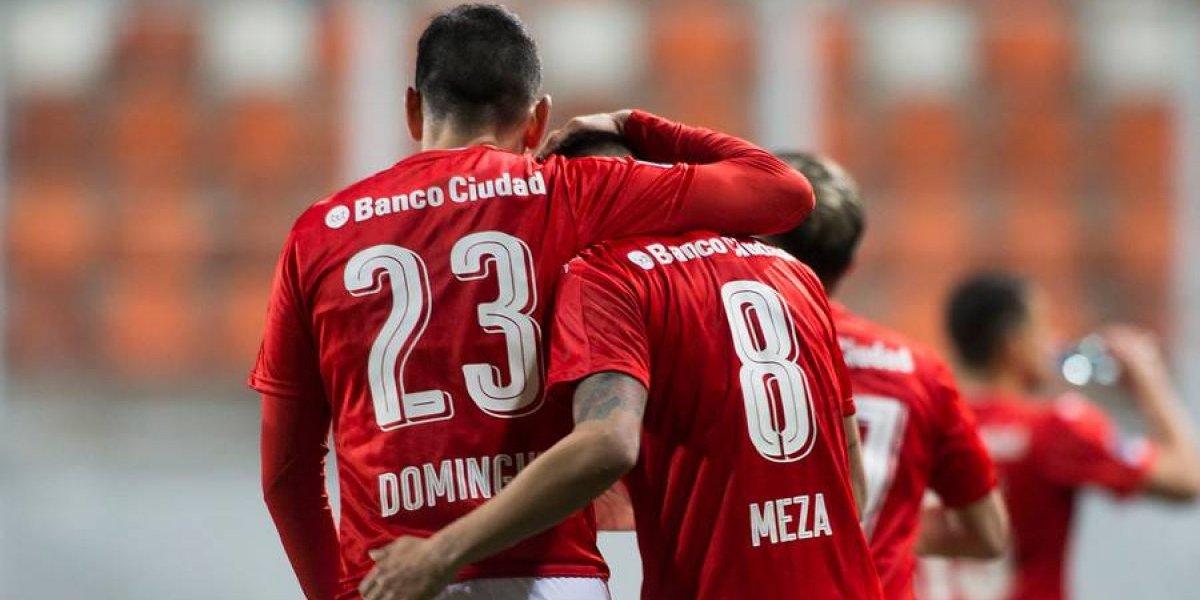Independiente terminó con el sueño de Sudamericana de Deportes Iquique
