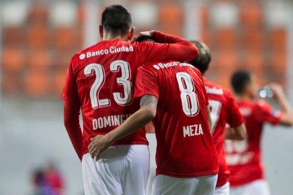 Independiente eliminó a Iquique / imagen: Photosport