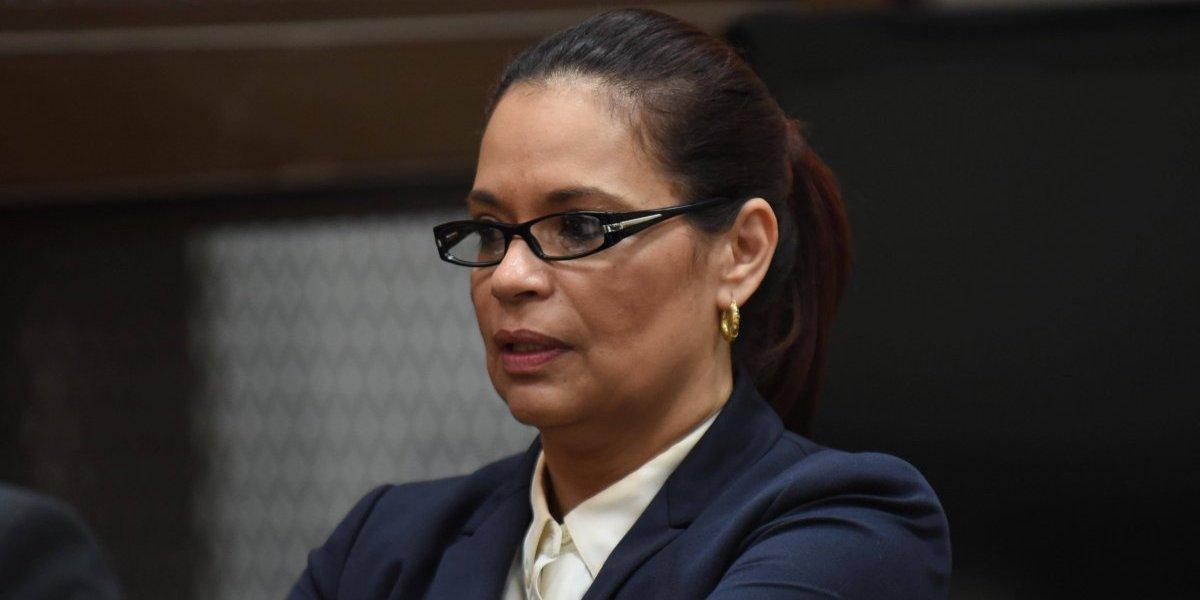 """Baldetti se queja con el PDH por los """"malos tratos"""" en tribunales"""