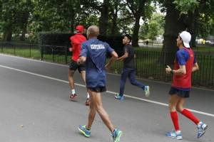Los maratonistas nacionales se alistan para el Mundial