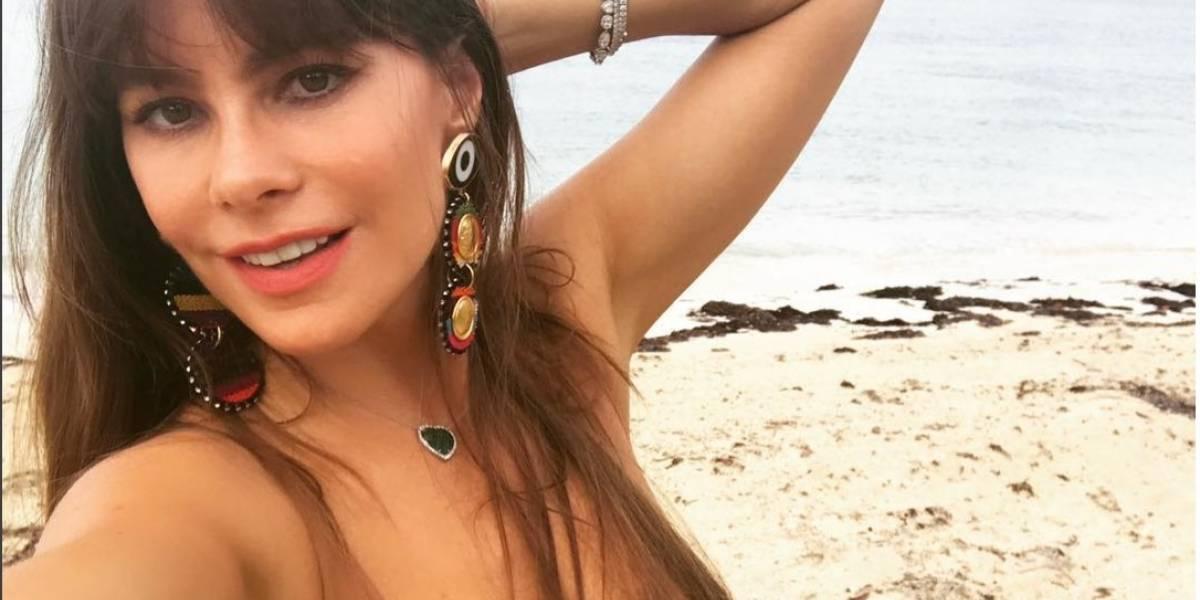 Sofía Vergara posa como Dios la trajo al mundo para Women's Health