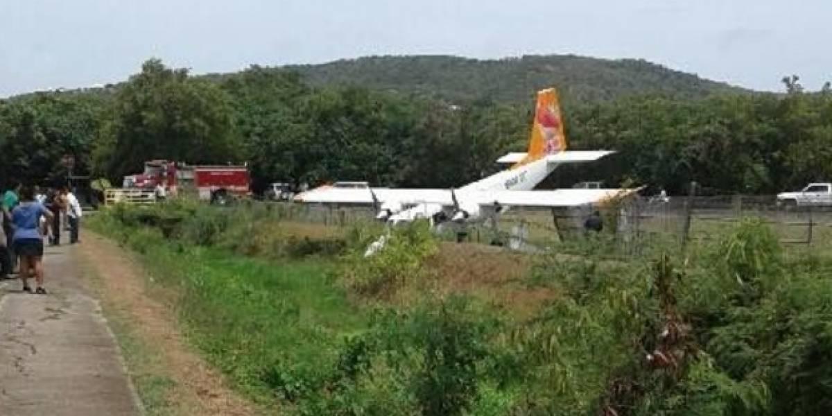 Ilesos cinco pasajeros de avioneta que se estrelló en Culebra