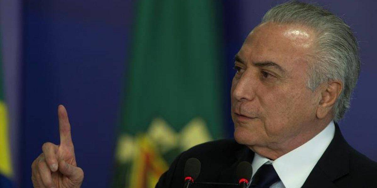 """Presidente de Brasil no tiene nada que """"temer"""": Diputados votaron no someterlo a juicio por corrupción"""