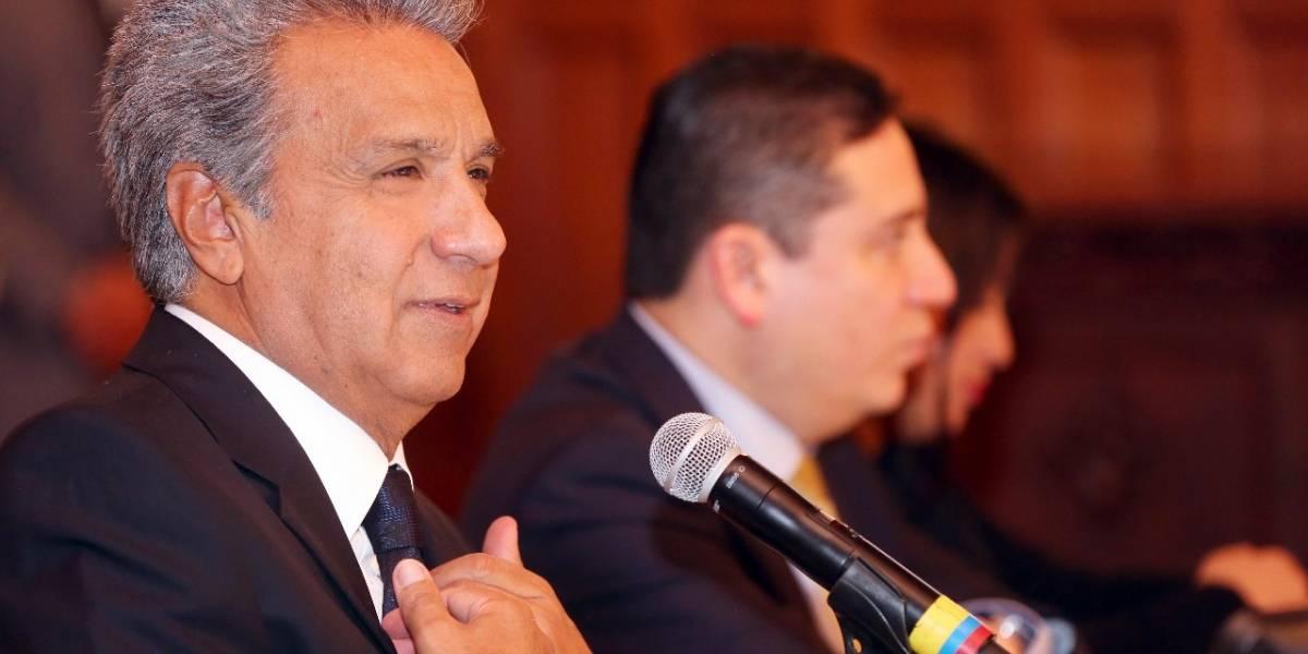 Secom descarta cadena nacional de Lenín Moreno por caso Glas