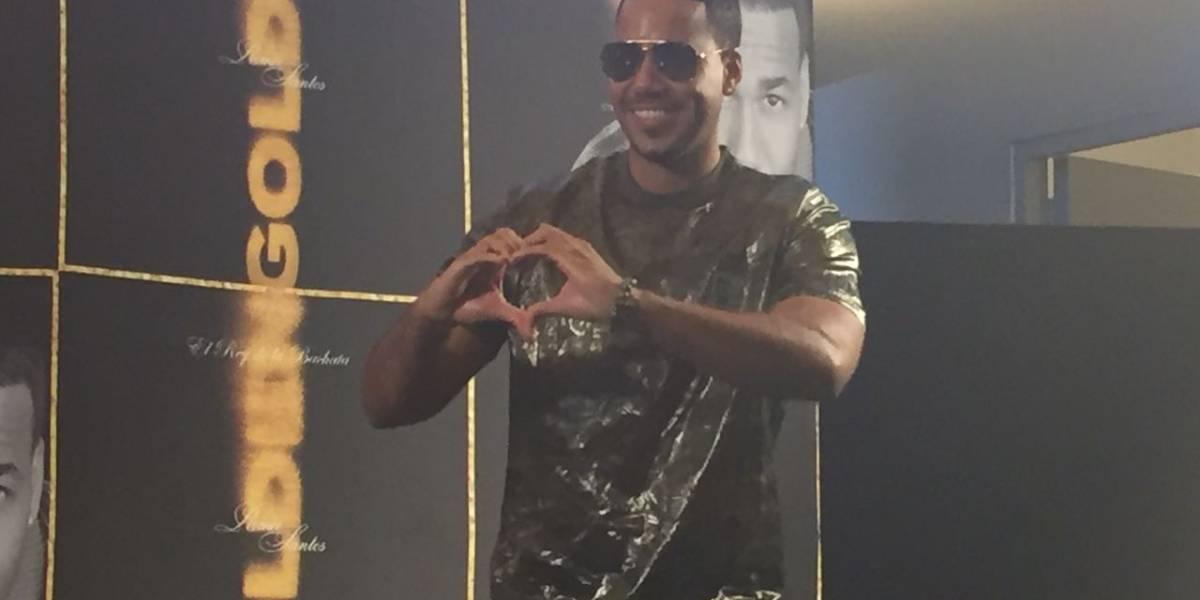En la cumbre de su madurez musical, Romeo Santos presenta Golden