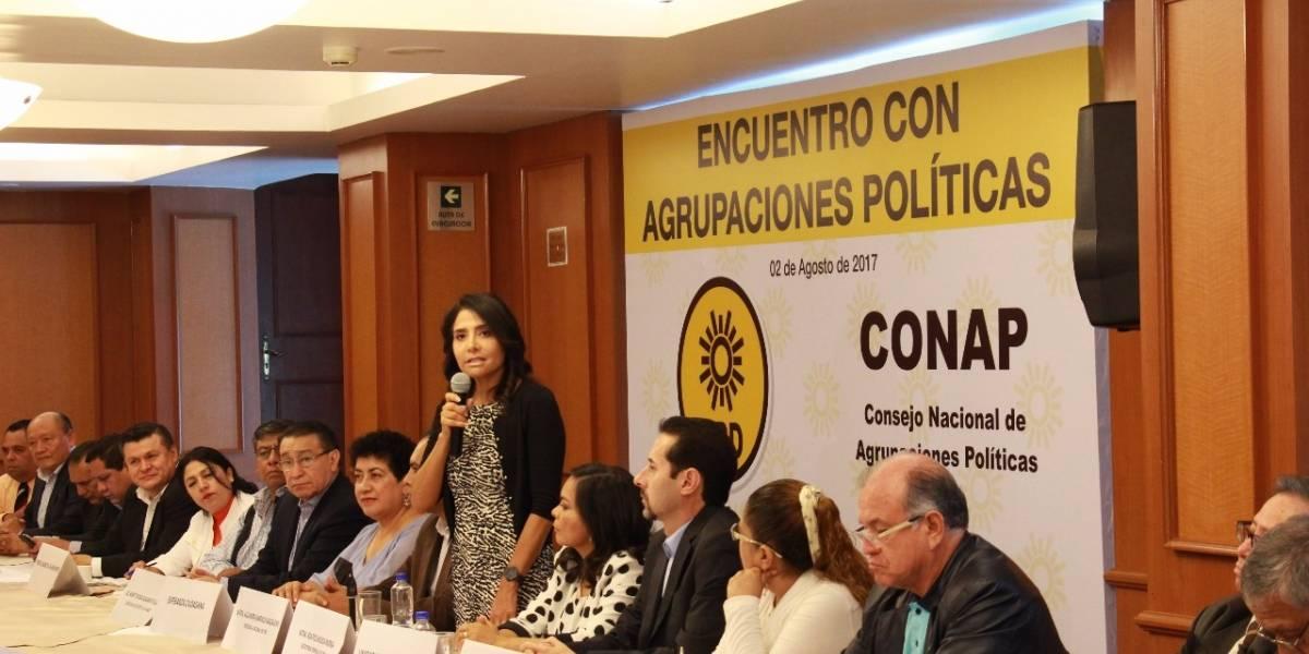 Respaldan al Frente Democrático 30 organizaciones políticas nacionales
