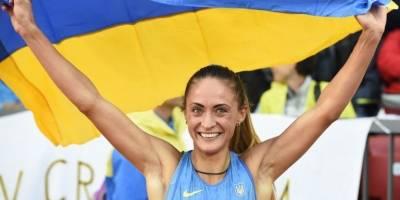 Olha Zemlyak durante las últimas Olimpiadas
