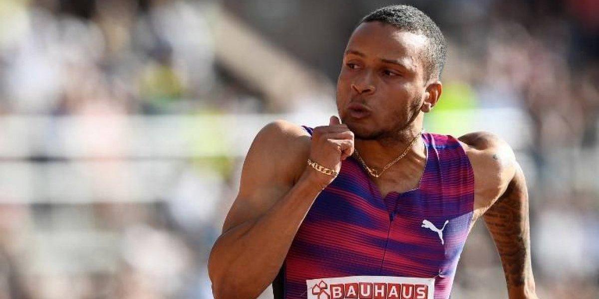 Principal rival de Usain Bolt se perderá el Mundial de atletismo por lesión