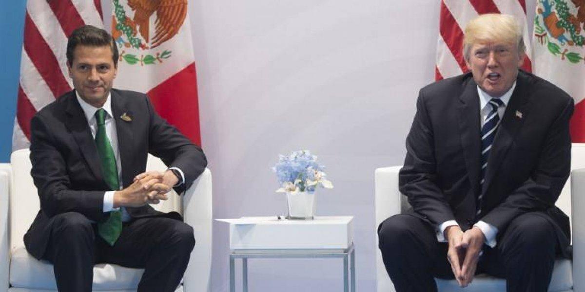 """Trump habría puesto contra la pared a Peña Nieto: """"Usted no puede decir más que EEUU va a pagar por el muro"""""""