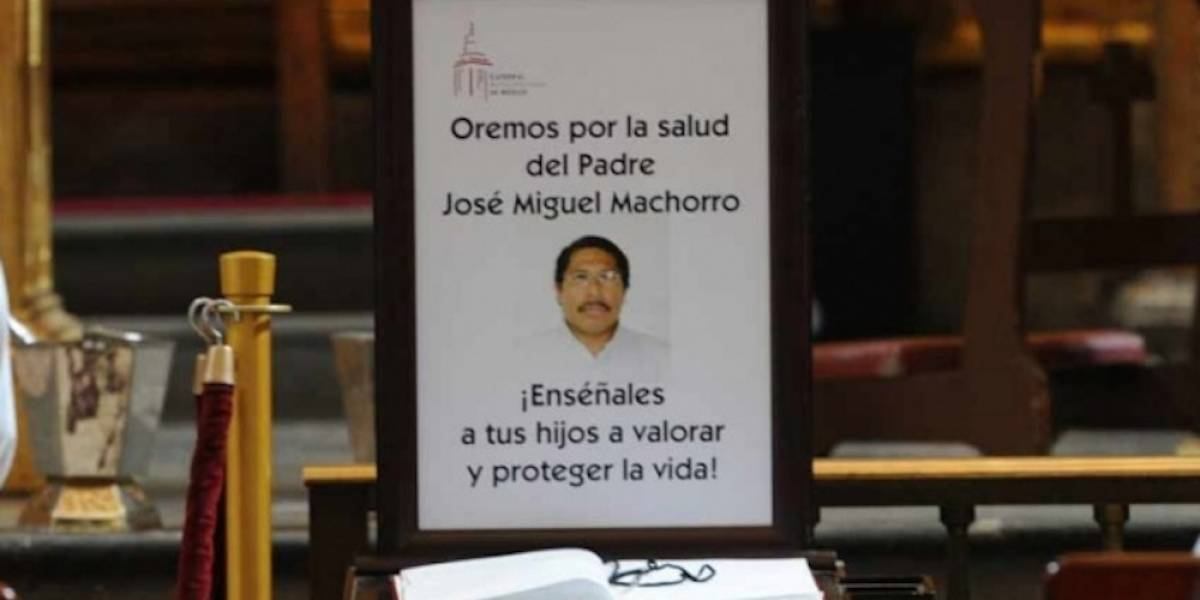 Fallece José Miguel Machorro, sacerdote apuñalado en la Catedral Metropolitana