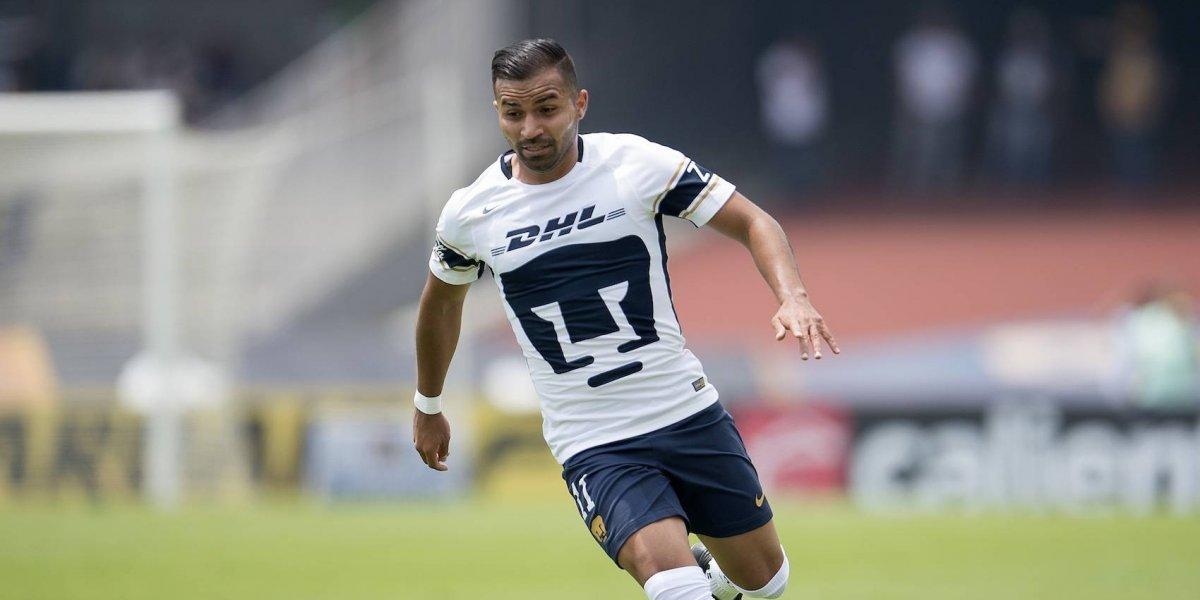 Futbolista de Pumas chocó tras finalizar entrenamiento