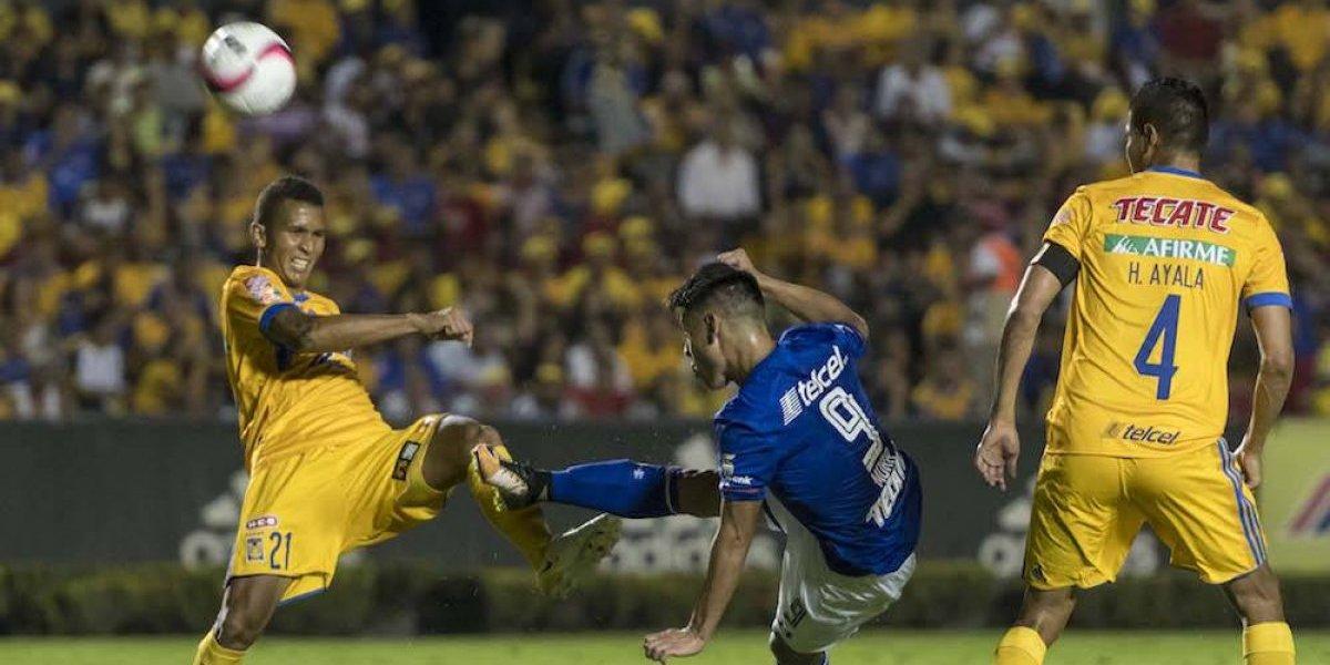 Cruz Azul rescata empate ante Tigres en la Copa MX