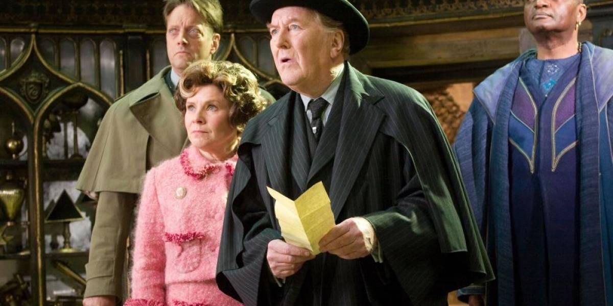 Muere Robert Hardy, actor de la saga 'Harry Potter'