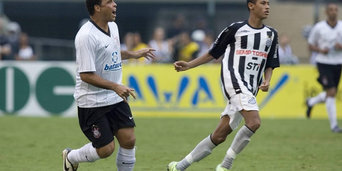 El debut de Neymar en el Santos que involucró a un colombiano