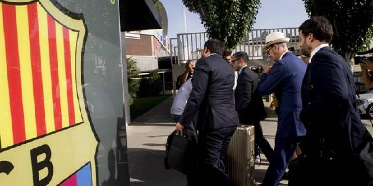 Los abogados de Neymar pagan los 222 millones en las oficinas del Barça