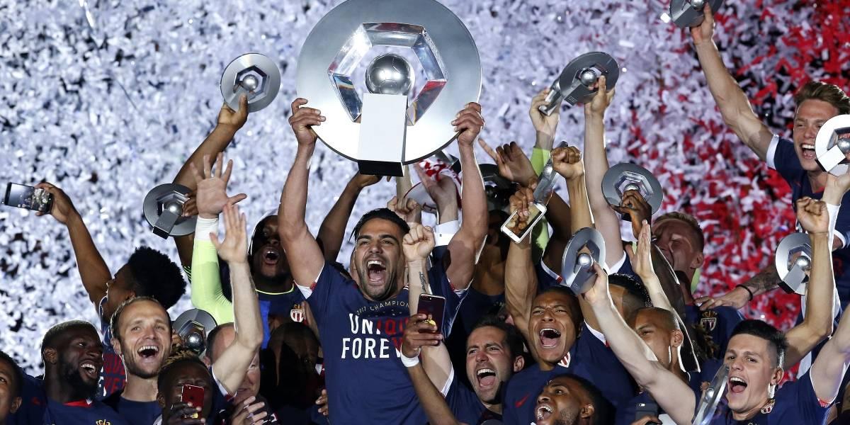 Falcao anotó en la victoria del Mónaco en su estreno liguero