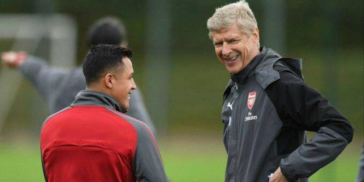 """Wenger insiste: """"Alexis se quedará en Arsenal esta temporada y quizás la siguiente"""""""