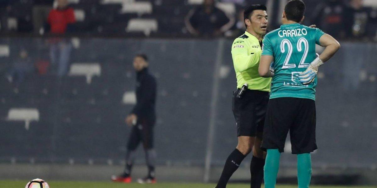"""Pedro Carrizo se lanzó contra Polic: """"Fue un robo, parece que están regalando los títulos de árbitro"""""""