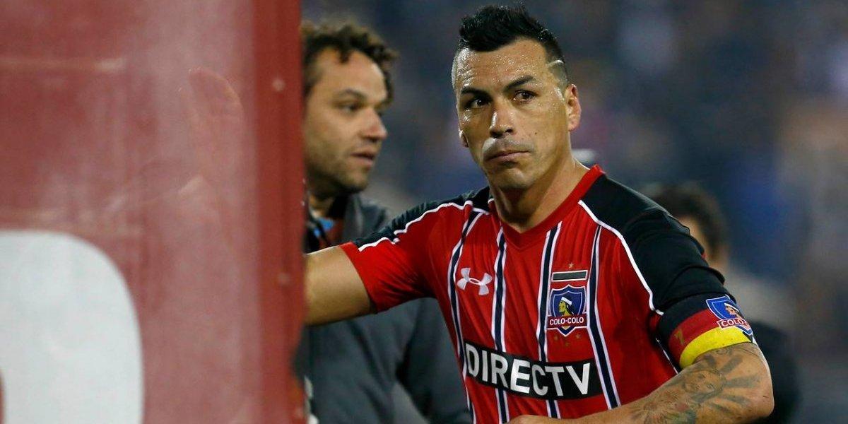 """Esteban Paredes se sumó a las críticas a los árbitros: """"Es lamentable y preocupa"""""""